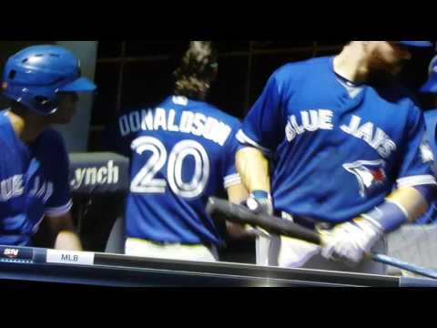 Josh Donaldson post-game interview August 17, 2016