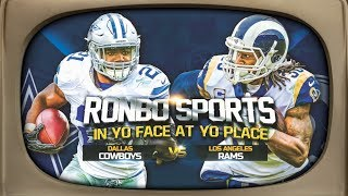 Ronbo Sports In Yo Face At Yo Place Watching Cowboys vs Rams Divisional Round NFL Playoffs 2019