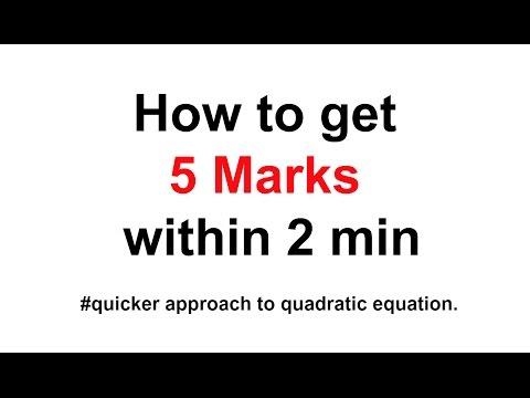 Quadratic Equations Tricks For Bank Po Shortcuts