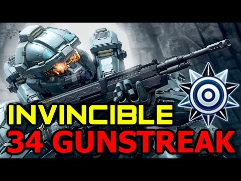 Halo 5 - INVINCIBLE 34 KILLSTREAK GUN ONLY! 50 Kill Warzone Gameplay Commentary (Halo 5: Guardians)