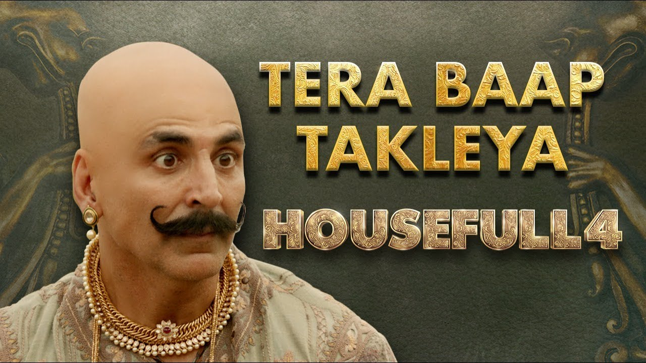 Housefull 4 | Tera Baap Takleya | Akshay|Riteish|Bobby|Kriti S|Pooja|Kriti K|Farhad| Oct 25