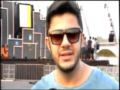 Cristiano Araújo fala sobre a gravação de seu DVD em Cuiabá