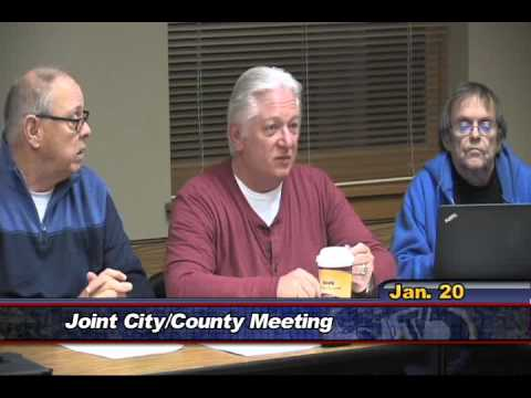 City County Joint Meeting, January 20 2016