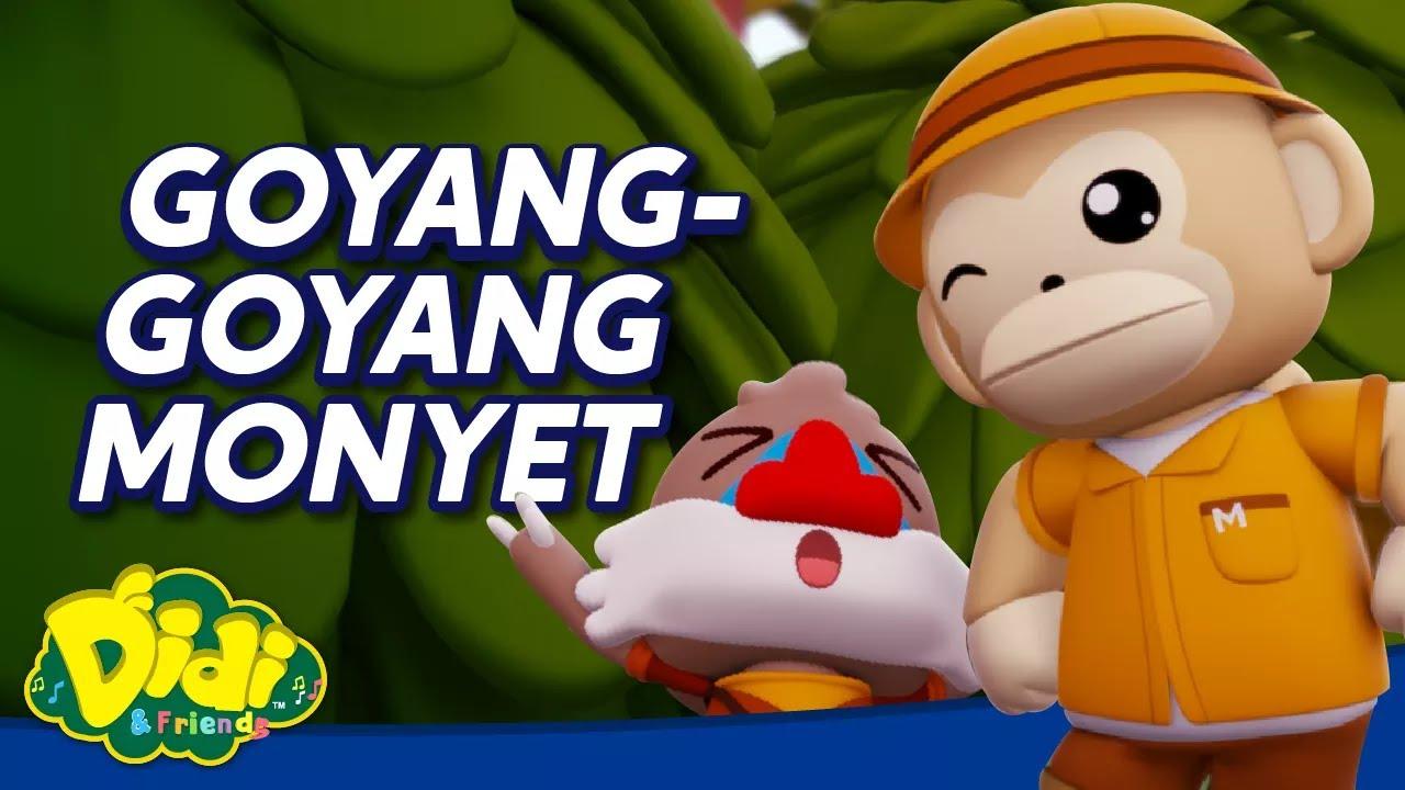 Goyang Goyang Monyet   Didi & Friends Lagu Kanak-Kanak   Didi Lagu Baru