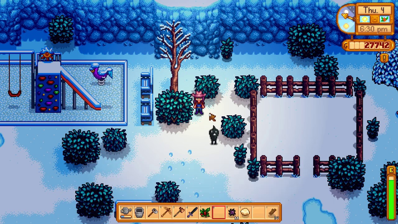 Stardew Valley - Where can you find Krobus? (Winter Mystery Quest) - YouTube