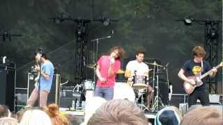 "Ra Ra Riot Performs ""Boy"" at Firefly Music Festival 2012"