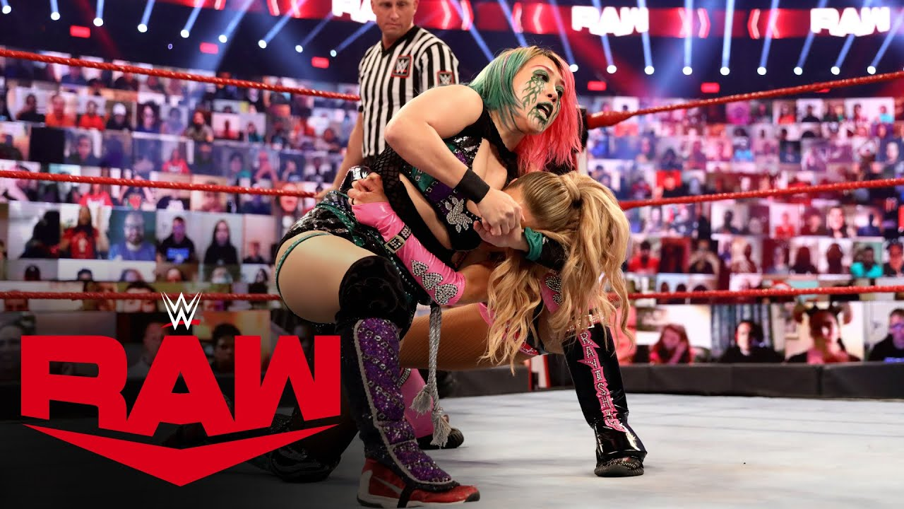 Asuka vs. Lana – Raw Women's Championship Match: Raw, Oct. 19, 2020