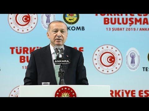 Cumhurbaşkanı Erdoğan: Ekonomik tetikçilere Osmanlı tokadını hep birlikte vuracağız
