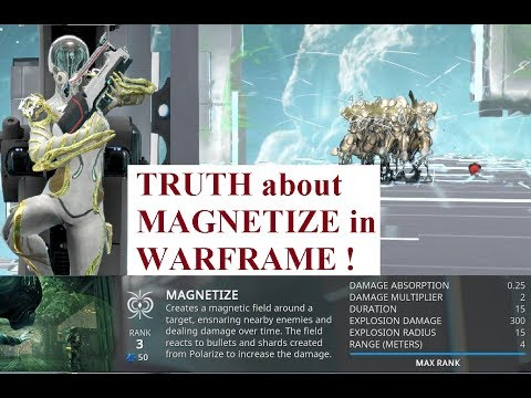 Warframe - Mag's Magnetize Ability Solved!