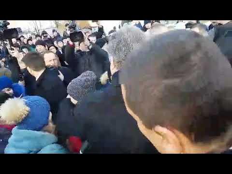 Волинь Post: У Ківерцях зустріли Президента України Петра Порошенка