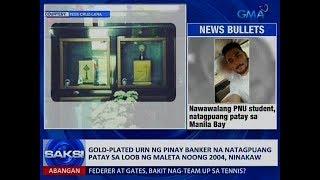 Saksi: Urn ng pinay banker na natagpuang patay sa loob ng maleta noong 2004, ninakaw
