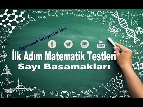 Sayı Basamakları Soru Çözümü / İlk Adım Testi / 2015-2016