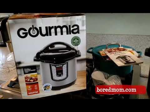 Gourmia Pressure 6 qt. Cooker Review - Making Garlic Mashed Potatoes