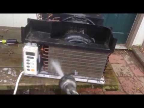 Cleaning LG window air-conditioner part 2