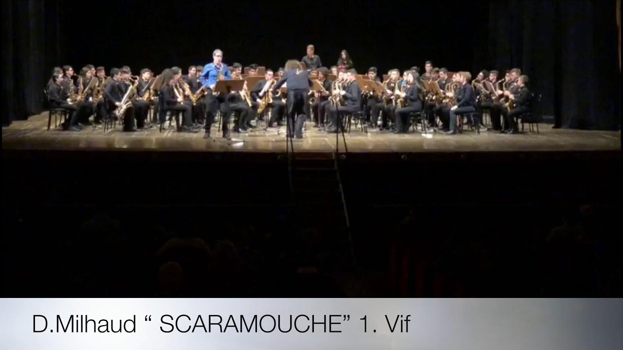 """Milhaud """"SCARAMOUCHE""""- Soloist: Alfonso Padilla- Sonora Junior Sax Orchestra"""