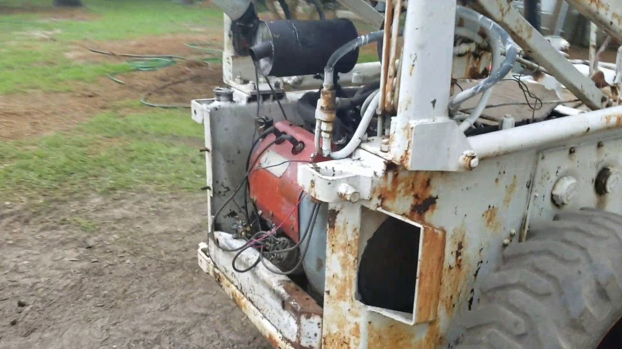 Completed Bobcat 500 Briggs Vanguard 23 hp conversion by