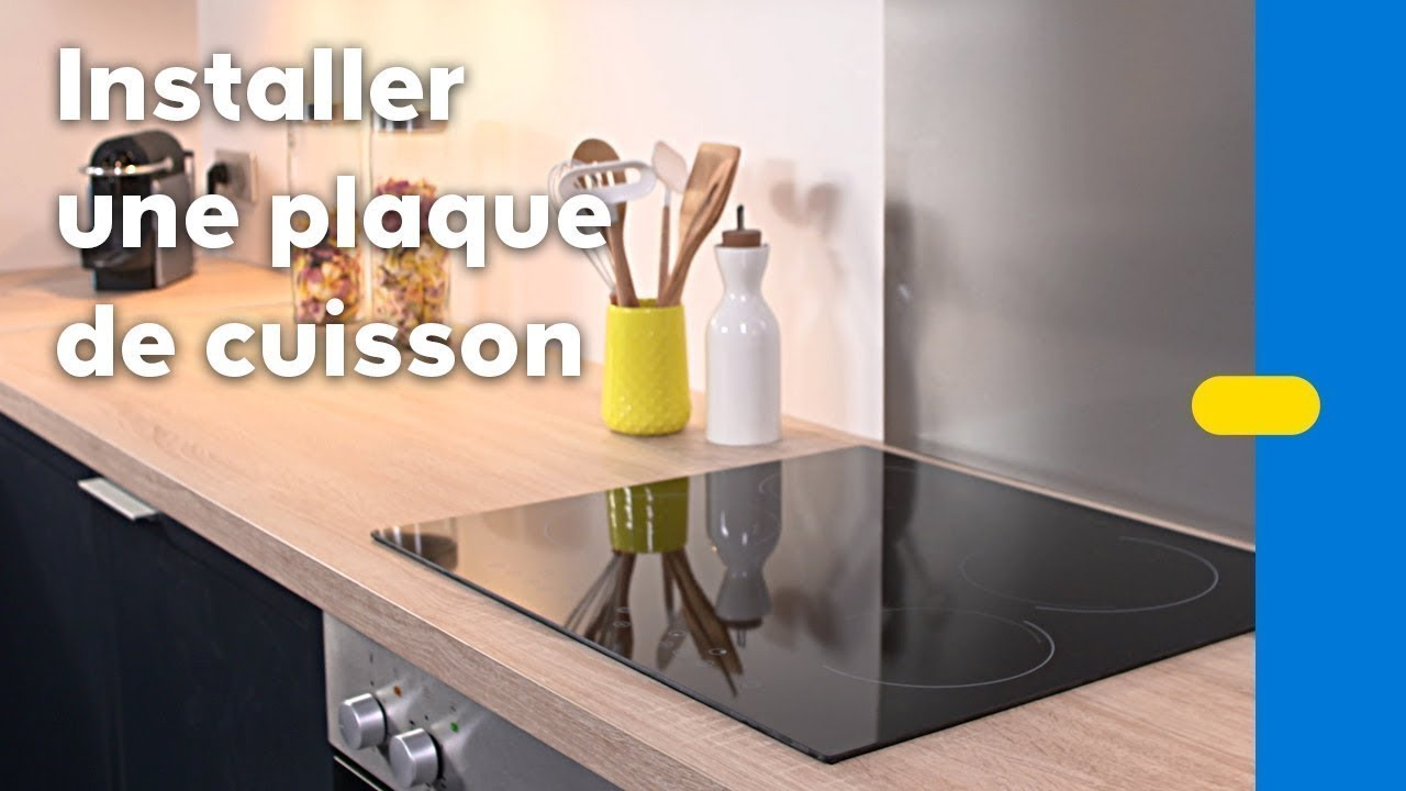 branchement electrqiue de la plaque de cuisson youtube. Black Bedroom Furniture Sets. Home Design Ideas
