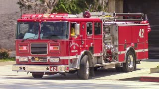 Culver City Fire Dept. Engine 42 (& Ambulance 42)