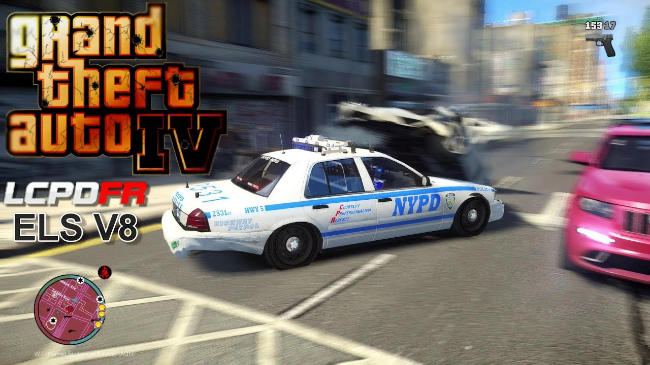 GTA IV - LCPDFR - 1.0C - EPiSODE 71 - NYPD CROWN VICTORIA ...