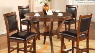 Nelms Counter Height Dining Room Collection From Coaster Furniture