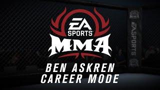 EA Sports MMA - Career Mode with Ben Askren (CAF) - Part 3