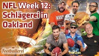 Massenschlägerei in Oakland & alles Weitere zur NFL Week 12   Footballerei SHOW