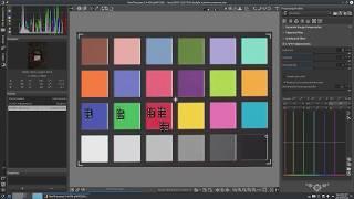Ayarlama renkleri kullanarak HH L*a*b* eğri maç için referans değerleri RawTherapee