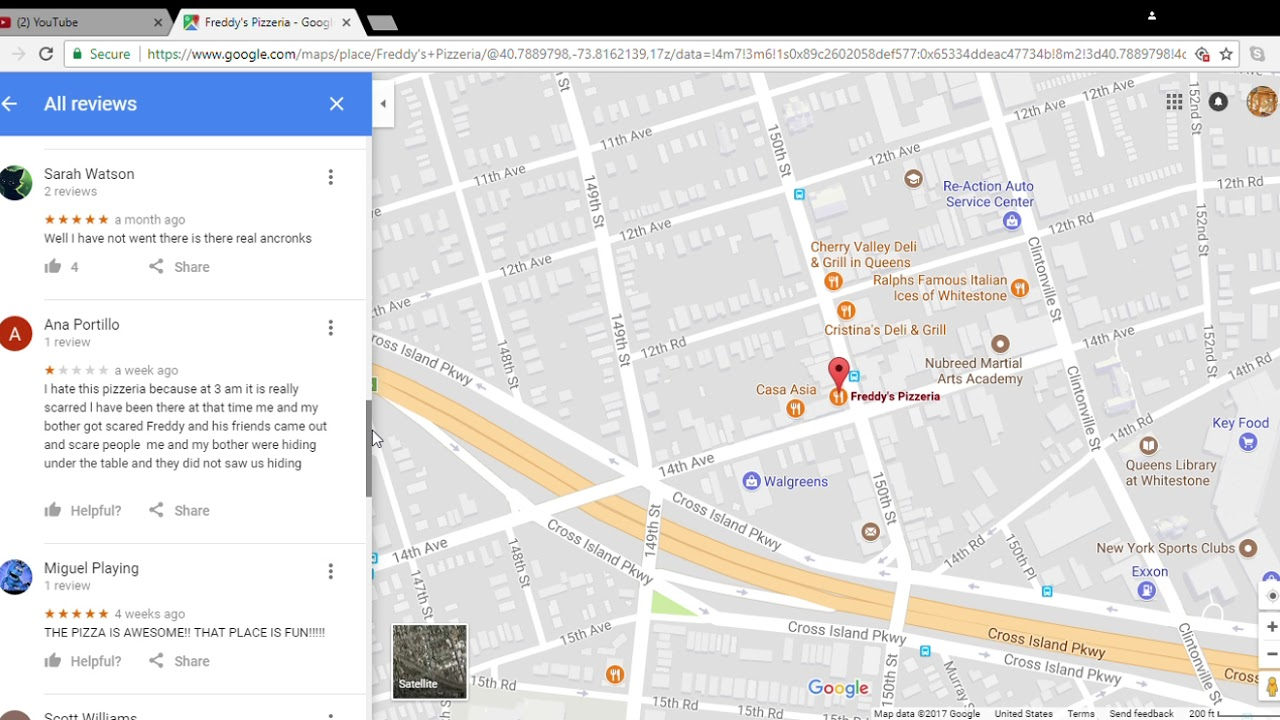 Google Maps Horror Part 1 FNAF song
