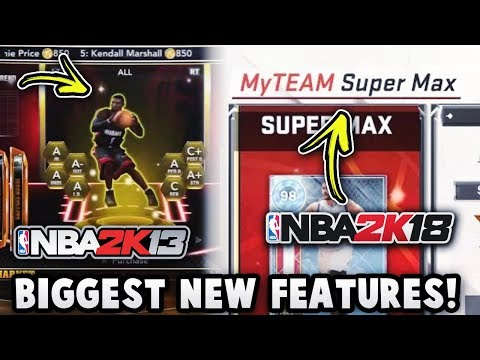 THE BIGGEST NEW FEATURE IN EVERY NBA 2K MyTEAM!! *NBA 2K13 - NBA 2K19*