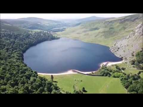 Wicklow Mountains National Park Drone Tour