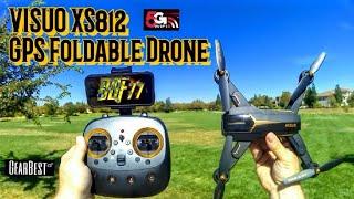 Tianqu Visuo XS812 GPS Foldable Drone
