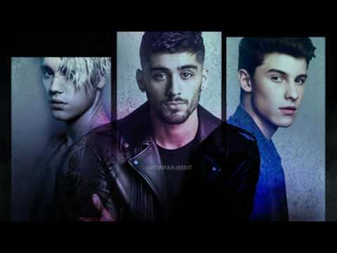 Justin Bieber ft  ZAYN Shawn Mendes   Right New song 2017 Mp3