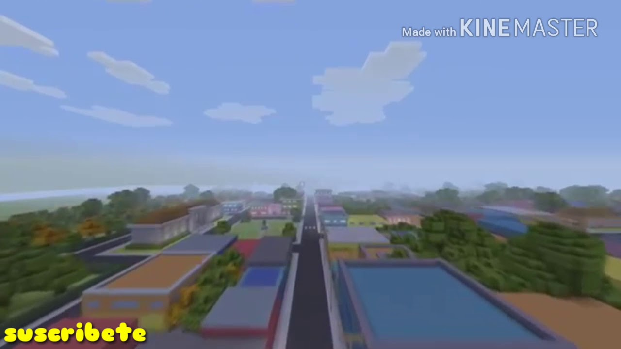 Los simpson intro minecraft