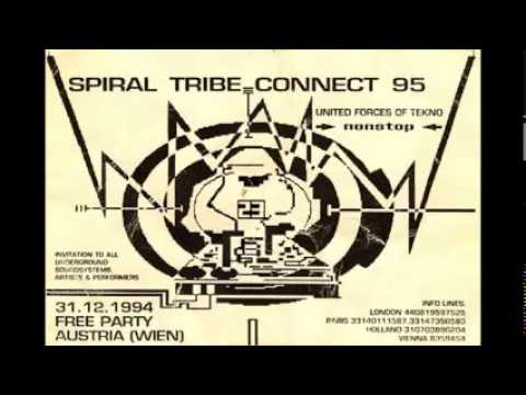 Spiral Tribe - Jeff 23 - United Forces Of Tekno 1994 (Side A & B)