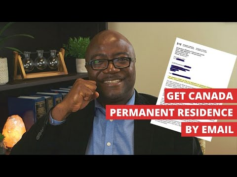 Get Canada Permanent residence by email