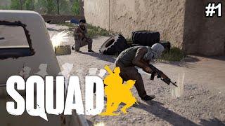 Squad: Aşırı Gerçekçi Savaş Simülasyonu - İlk İzlenimler #1 (Türkçe)