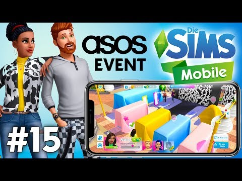 Let's Play Die Sims Mobile #15   ASOS Mode Events & Yoga Hobby
