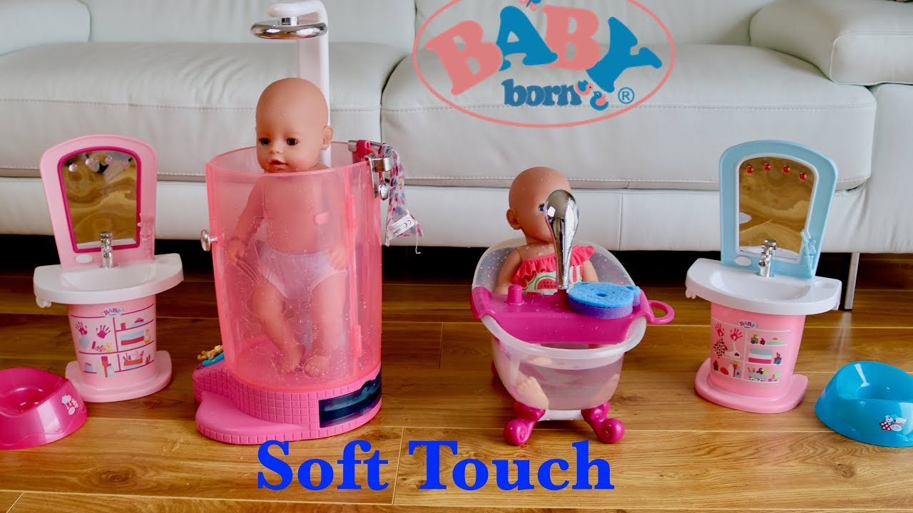 Baby Born Soft Touch Boy And Girl 2018 New Baby Dolls All Day Care