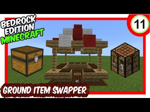 Aio Minecart Station Tutorial Minecraft Bedrock Edition Mcpe Youtube