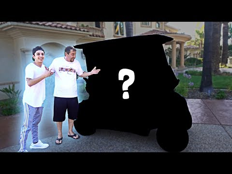 Surprising my Dad with a NEW CAR!! | FaZe Rug
