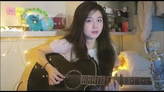 Cover lagu Payung teduh cewek cantik bikin baper tingkat dewa