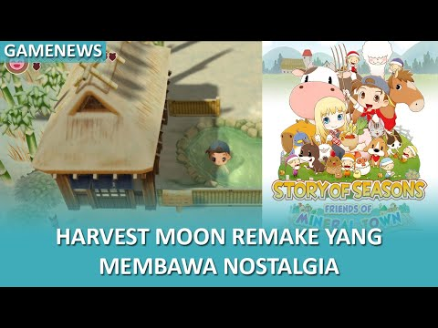 Remake Menarik Dari Harvest Moon Back To Nature?? | #GAMENEWS