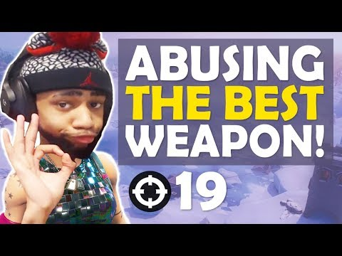 ABUSING THE BEST WEAPON IN FORTNITE....