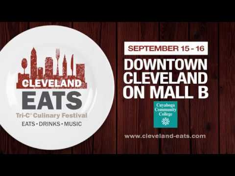 You're invited to Cleveland Eats - Sept. 14-16, 2017
