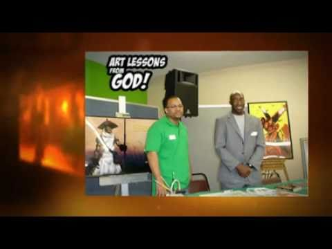 Book Tony Snipes: Art Lessons From God