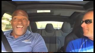 Приколы. Супер рывок авто Тесла P85D. Реакция людей. Tesla P85D Reactions Compilation(В этом видео Вы увидите как люди реагируют на сверхбыстрый рывок автомобиля Тесла P85D. Прикольное и смешное..., 2015-02-01T12:26:05.000Z)