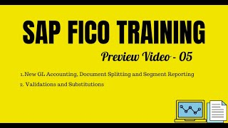 SAP FICO Video Training - New General Ledger, Segment Reporting, Validations and Substitutions