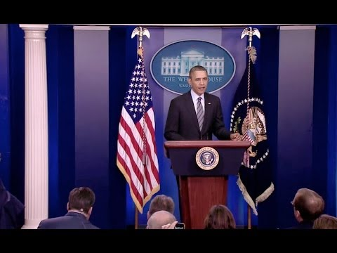 President Obama Speaks on Ukraine