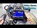 VIDEO GAME Ice Fishing!!! (INSANE)