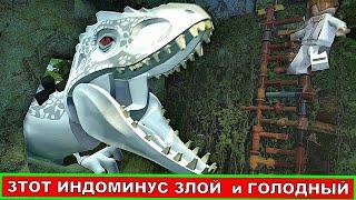Лего динозавры. Индоминус Рекс. Мультфильмы про Динозавров. Lego динозавры